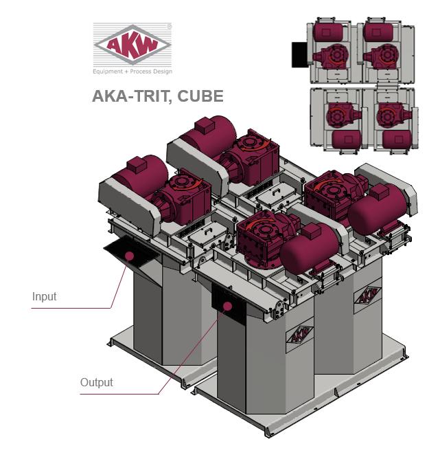 AKA-TRIT, CUBE Design